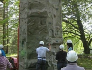 The mobile climbing wall