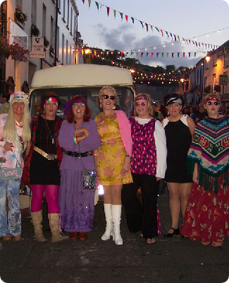 Fancy dress at the Heart of the Glens Festival