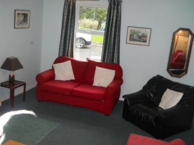 The Living  Room in Tievebulliagh Cottage