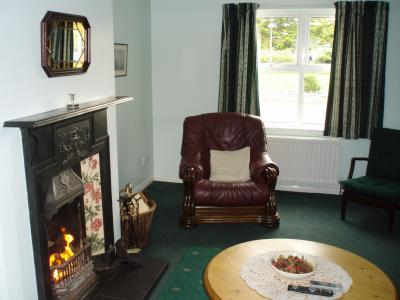 The Living Room in Trostan Cottage
