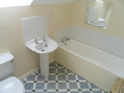 The Bathroom in Trostan Cottage