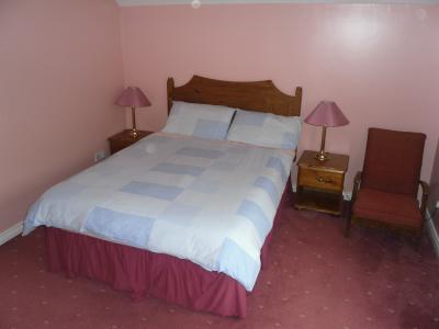 The Double Bedroom in Tiveragh Cottage